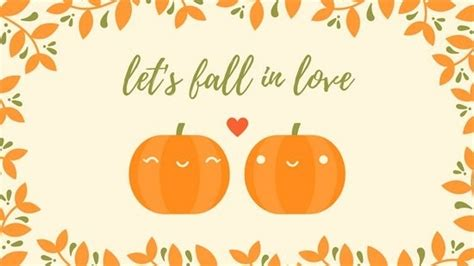 Girly Simple Fall Backgrounds by Fall Pumpkin Background Flowersheet