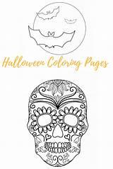 Halloween Coloring Entertain Trick Printables Treat Until Enjoy sketch template