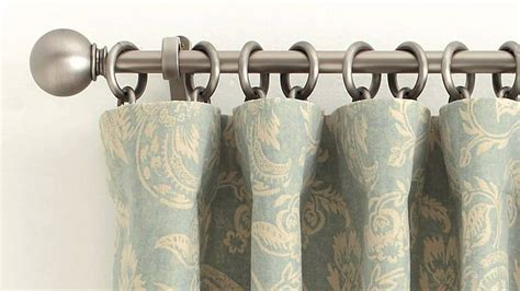 How To Use Drapery Rings by How To Correctly Hang A Drape At Home Pottery Barn