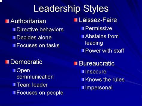 ideal leadership style usifoa