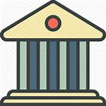Bank Icon Deposit Debt Institution Banking Commercial