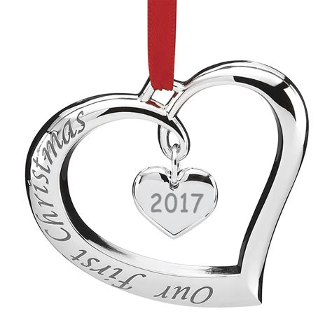 our first christmas forevermore ornament 2017 lenox