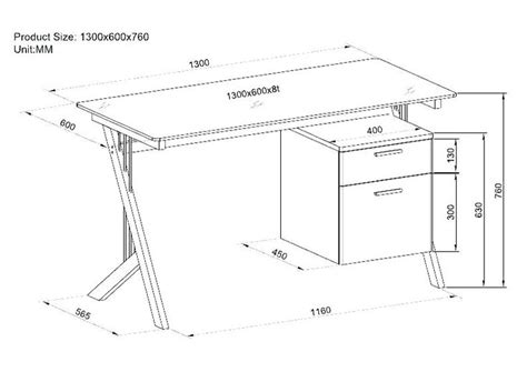 Office Desk Size by Standard Office Desk Dimensions Height Of An Office Desk