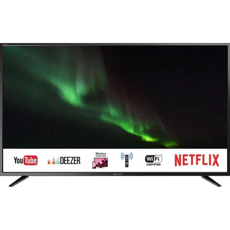 sharp  led smart tv  lc cuge simosviolaris
