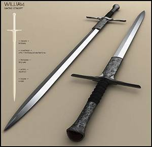 William by peterku longsword shortsword long short sword ...