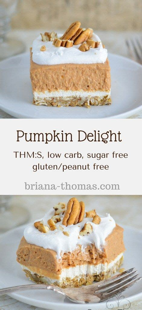 Also we are christmas wrapping all the books and totes bags and other merry stuff. Pumpkin Delight | Recipe | Sugar free desserts, Free ...