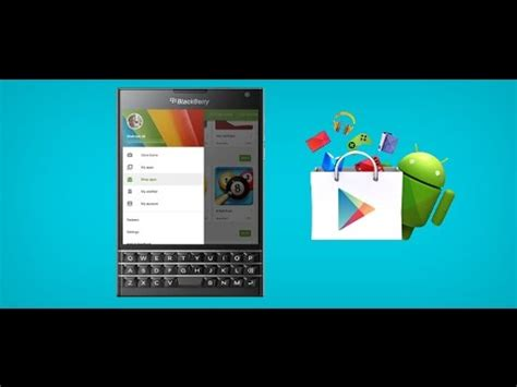 install play store in blackberry 10 devices