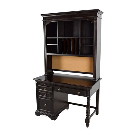 wood desk with hutch 78 off pulaski pulaski solid wood desk with hutch tables