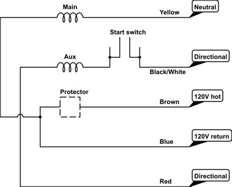 Single Phase Motor Wiring Diagram by Capacitor How To Wire A 5 Leads Single Phase