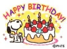 Snoopy Birthday GIFs | Tenor