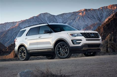 2018 Ford Explorer by 2018 Ford Explorer Rear Hd Picture New Car Release Preview