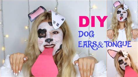 halloween dalmatian dog tutorial diy dog ears