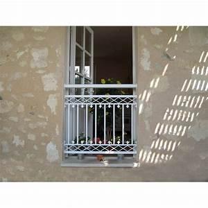 Garde Corps Exterieur Leroy Merlin : garde corps pour balconnet en aluminium laqu arizona ~ Dailycaller-alerts.com Idées de Décoration