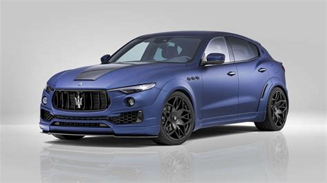 maserati levante 2017 maserati levante esteso by novitec review top speed