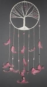 Tuto Attrape Reve Arbre De Vie : d corations murales attrape r ves rose arbre de vie est ~ Voncanada.com Idées de Décoration