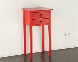 Table De Chevet Rouge : table chevet rouge ~ Preciouscoupons.com Idées de Décoration