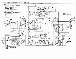 Qsc Mx1500 Service Manual Download  Schematics  Eeprom  Repair Info For Electronics Experts