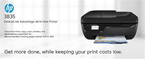 An easy place to find your printer drivers, scanner drivers, fax drivers from various provider such as canon, epson, brother, hp, kyocera, dell, lexmark and more! HP DeskJet Ink Advantage 3835 All-in (end 7/5/2021 12:00 AM)