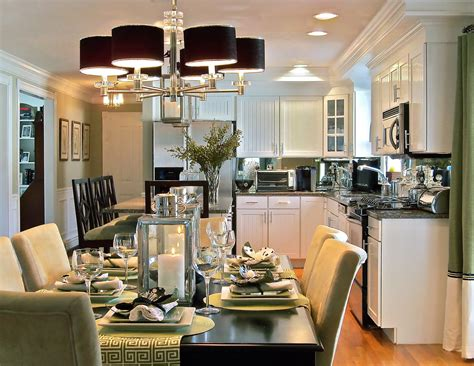 small kitchen dining room design ideas small cape home open dining room to kitchen home decor