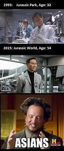 Jurassic Park, Henry Wu, Asians | Funny | Pinterest