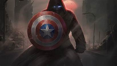 Captain America 4k Shield Marvel Artwork Wallpapers