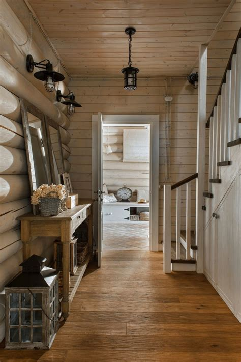 decordemon  elegant log cabin  id interior