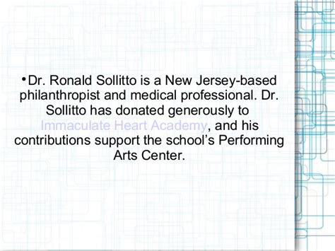 Ronald Sollitto by About Immaculate Academy