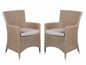 Polyrattan Sessel Grau : 2er set polyrattan sessel beige grau inkl kissen gartenstuhl esszimmer spar set ebay ~ Indierocktalk.com Haus und Dekorationen