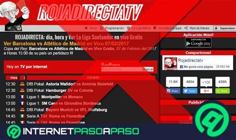 Tarjeta Roja Tv Roja Directa Fútbol En Vivo Partidos ...