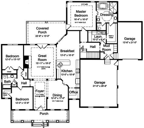 one bedroom cabin plans cecelia 9096 3 bedrooms and 2 5 baths the house designers 16553 | 1stfloor(17)