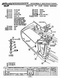 Diagram Or Instructions For Hood Latch Adjustment