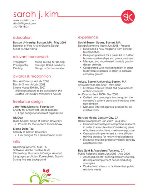 interior designer resume interior design resume objective