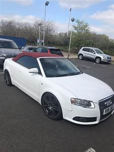 Audi A4 Cabriolet : audi a4 convertible red white in syston leicestershire ~ Melissatoandfro.com Idées de Décoration