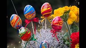 Ostereier Gestalten Kindergarten : farbenfrohe ostereier einfach marmorieren mit marmorierfarbe youtube ~ Orissabook.com Haus und Dekorationen