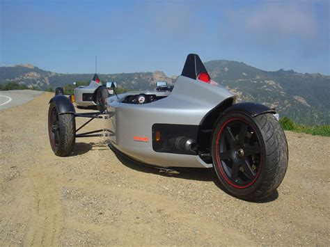 Sub Cycle Car. Single Seater Powered By Suzuki Tl1000