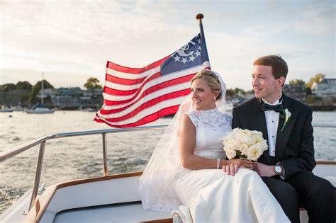 eastern yacht club wedding  marblehead massachusetts