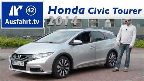 Honda Civic Tourer Usa by 2014 Honda Civic Tourer 1 6 I Dtec Fahrbericht Der Pr