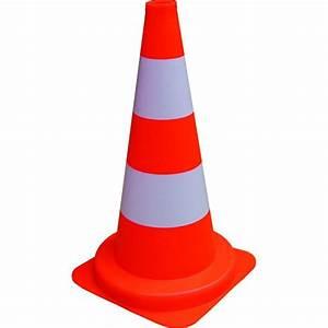 Cone De Chantier : cone de chantier hauteur 50 cm materiel ~ Edinachiropracticcenter.com Idées de Décoration