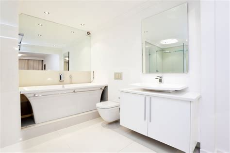 White Modern Bathroom by 59 Modern Luxury Bathroom Designs Pictures