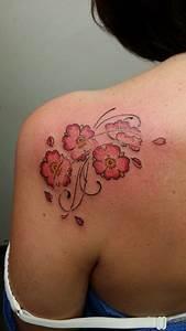 Tattoo Fleur De Cerisier : tatouage avant bras femme fleur de cerisier ~ Melissatoandfro.com Idées de Décoration