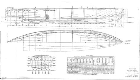 Boat Plans by Classic Wooden Boat Plans 187 About The Plans