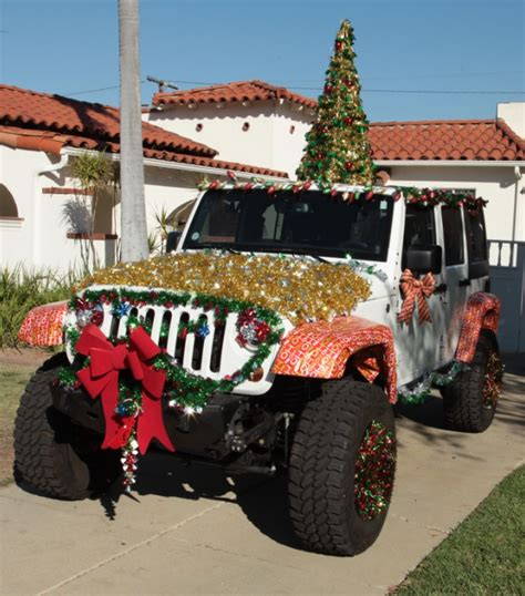 jeep christmas decorations 4wd deck your jeep photo contest gets underway
