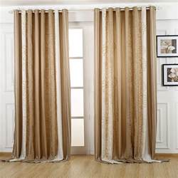 Double Curtain Rod White by Vintage Brown Blackout Curtain For Bedroom