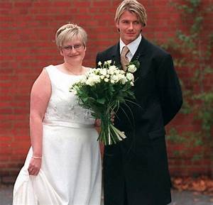 David Beckham's sister sells wedding dress on ebay for £5 ...