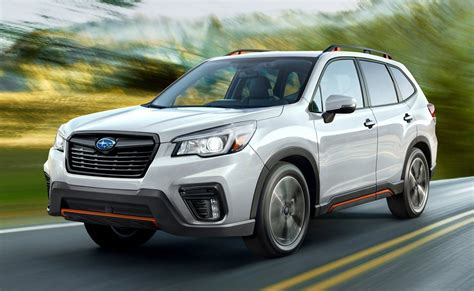 subaru forester arrives  tons  features