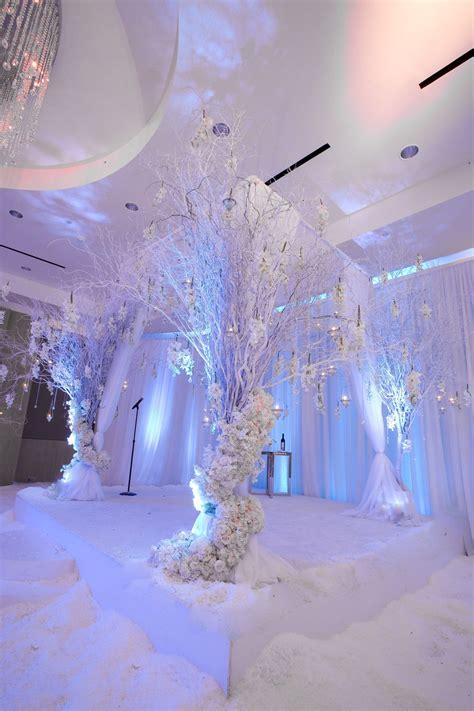 white weddingstage wedding 2023 in 2019 winter