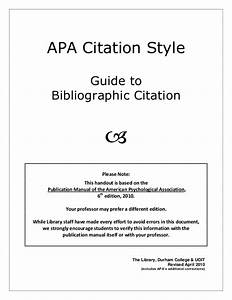 How Do I Cite The Apa Manual 6th Edition  Formatting