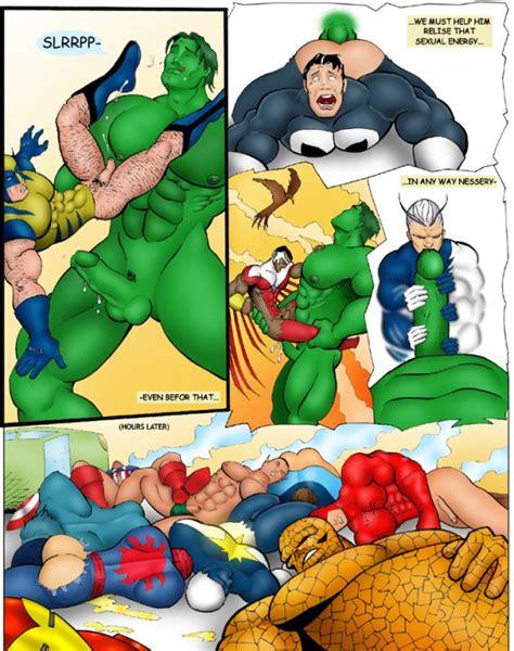 Rule 34 Abs Anal Ass Avengers Ben Grimm Biceps Black