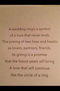 1000 images about marriage commissioner ideas on With wedding ring ceremony speech