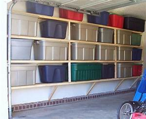 14 idees et astuces de rangement pour le garage With ideas to build interesting wood shelving units